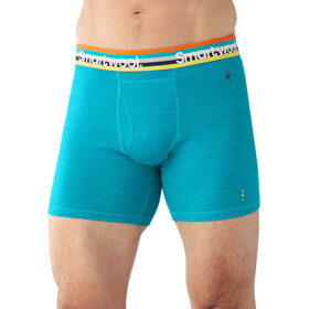 Smartwool Merino 150 Pattern Boxer Brief Men Sea Blue